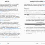MacBok Pro Kullanma Klavuzu E Kitap