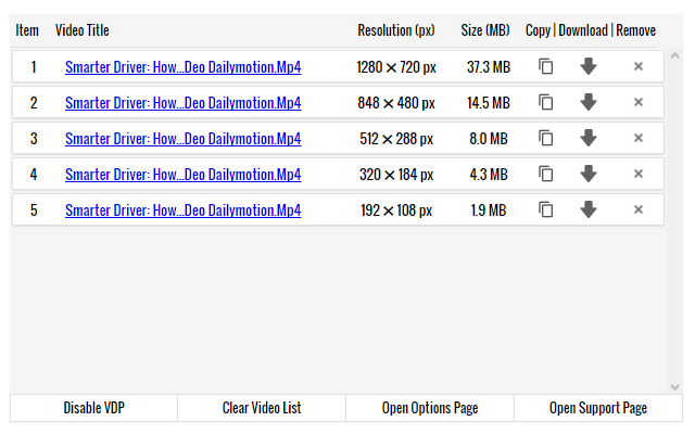 Video Downloader Prime Firefox Eklentisi
