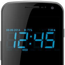 Dijital Alarm Saati Mobil Apk