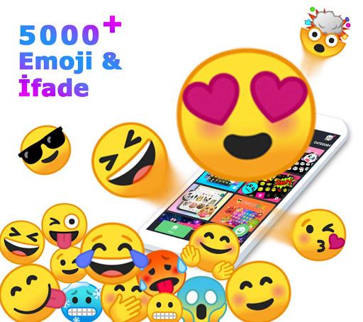 Android Emoji Klavye Uygulaması