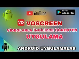 Voscreen – Videolarla İngilizce Öğren